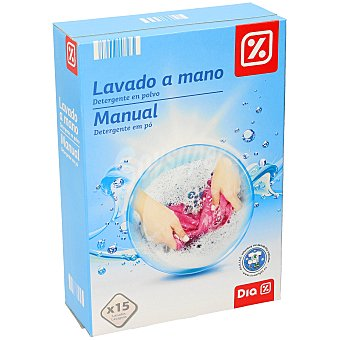 DIA Detergente polvo para lavar a mano caja 600 gr 600 gr