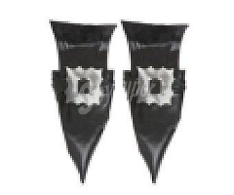 Widmann Cubrezapatos con hebilla, complemento para disfraz de Bruja, Halloween 1 unidad