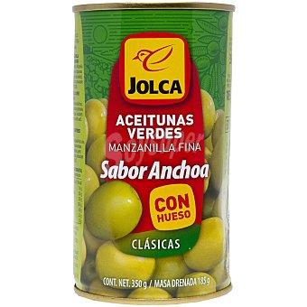 Jolca Aceitunas verdes con anchoa Lata 185 g