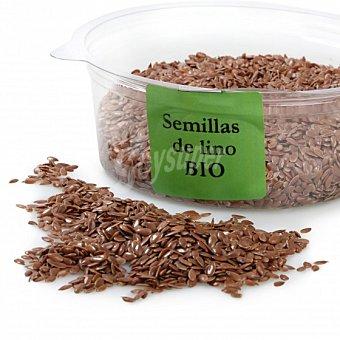 Carrefour Semilla de lino ecológica granel tarrina 125 g Envase De