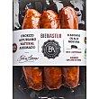 Chorizo asturiano ahumado 100% natural pieza 275 g El Cuco