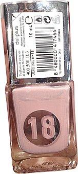 Deliplus Laca uñas Nº 18 rosa palo 1 unidad