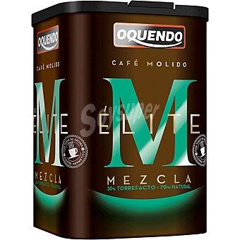 Oquendo Élite café molido mezcla 30-70 bote 500 g