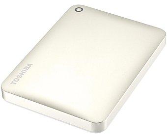 TOSHIBA CANVIO CONECT 2 Disco duro externo de 2.5 pulgadas toshiba canvio connect II Blanco, 1TB de almacenamiento, conexión 3.0 y 2.0 3.0 1TB