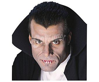 HAUNTED HOUSE Dientes sangrientos para disfraz de Drácula, Halloween Colmillos vampiro