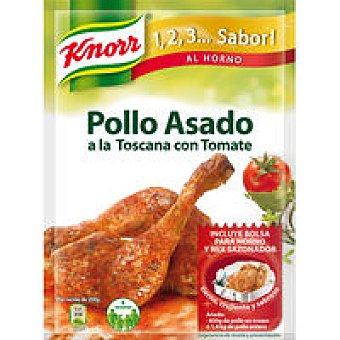 Knorr Mi pollo al horno estilo toscana Sobre 33 g