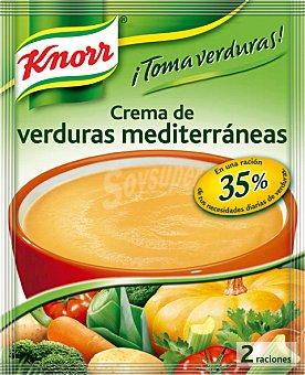 Knorr Toma Verduras Crema de Verduras Mediterránea Sobre 67 Gramos