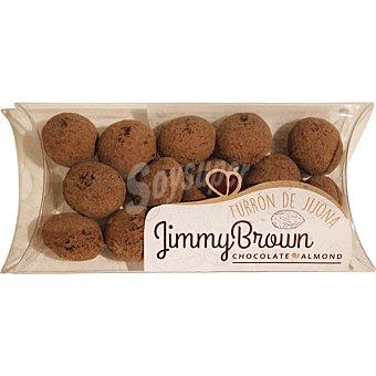 Jimmy brown bolitas de almendra rellenas de turrón jijona envase 125 g