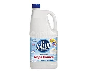 La Salud Lejía ropa blanca perfumada 2 l
