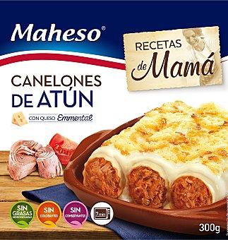 Maheso Canelones atún con bechamel Caja 300 grs