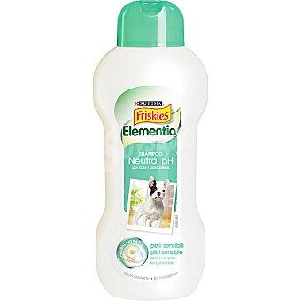 FRISKIES ELEMENTIA Champú para perros Ph neutro para piel sensible envase 250 ml Envase 250 ml