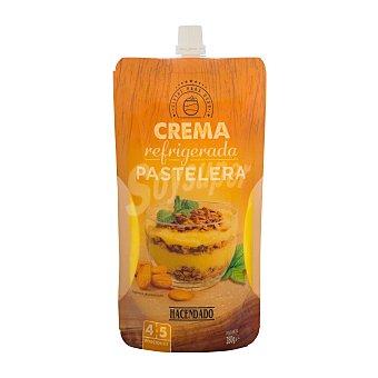 Hacendado Crema pastelera para reposteria 4-5 raciones refrigerada Bolsa 280 g