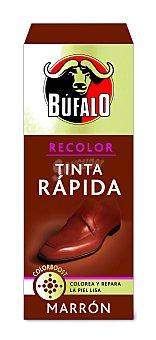 Bufalo Tinte para calzado rápido marrón Frasco 25 ml