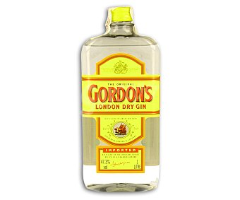 Gordon's Ginebra London dry Botella de 1 L