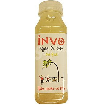 INVO Agua de coco con piña Botella 300 ml