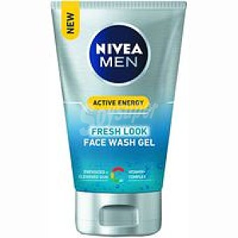 Nivea For Men Gel limpiador tonificante Tubo 100 ml