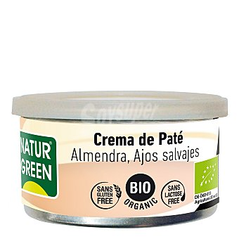 Naturgreen Pate almendras ajos salvajes - Sin Gluten 130 g