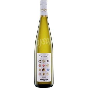 GREGAL D'ESPIELLS Vino blanco muscat malvasía gewrstraminer D.O. Penedés Botella 75 cl