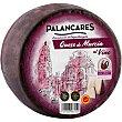 Queso de Murcia al vino madurado de cabra elaborado con leche pasteurizada D.O.P. peso aproximado pieza 2,8 kg Palancares