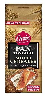Ortiz Pan Tostado Multicereales 720 Gramos