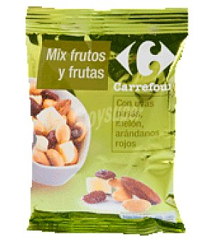 Carrefour Mix frutos y frutas 120 g