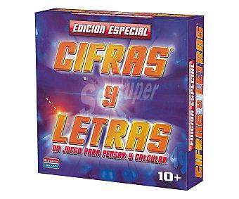 FALOMIR JUEGOS Juego de mesa para pensar y calcular, Cifras y letras edición especial, para más de 2 jugadores 1 unidad