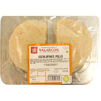 VALARCON Escalopines de pollo Bandeja 300 g