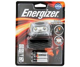 Energizer Linterna 2 Led headlight (incluye 3 pilas AAA LR03 1,5V) 1 Unidad