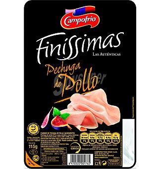 Campofrio Finissimas Pechuga cocida de pollo lonchas 115 G