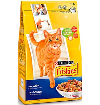 Purina Friskies Comida gato atún-verdura 1,5 KG