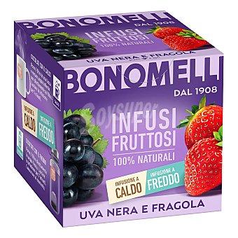 Bonomelli Infusión de uva negra y fresa en Bolsitas 24 ud
