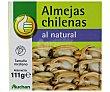 Almejas chilenas al natural 63 gramos Productos Económicos Alcampo