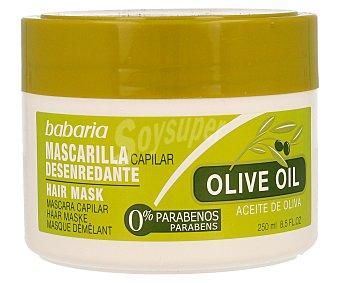 Babaria Mascarilla capilar desenredante con aceite de oliva 250 ml
