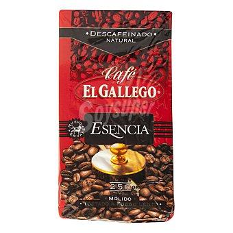 El Gallego Café descafeinado molido Paquete 250 g