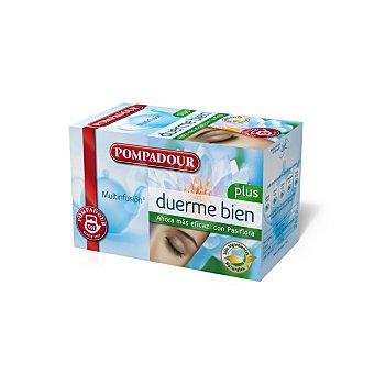 Pompadour Multinfusión Duerme Bien (mezcla de Hierbas Naturales) Caja de 20 bolsitas