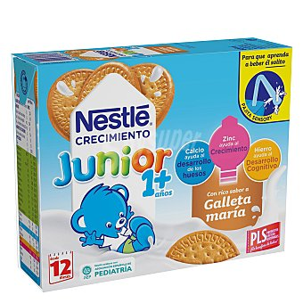 Nestlé Leche de crecimiento con galleta Pack 3x200 ml