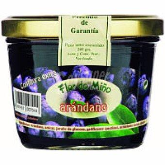 FLOR DO MIÑO Confitura de arándanos Tarro 240 g