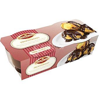 Solo Italia Profiteroles con salsa de chocolate Pack 2 unidades 90 g