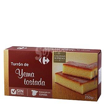 Carrefour Turrón de yema tostada sin gluten 300 g