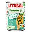 Vegetal garbanzos & kale Lata 425 g Litoral