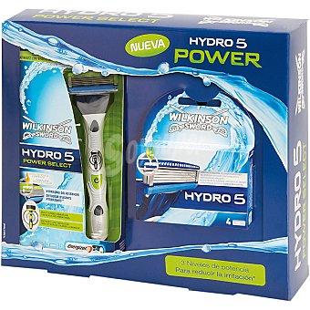 Power maquinilla de afeitar Hydro 5 Select + recambio 4 unidades