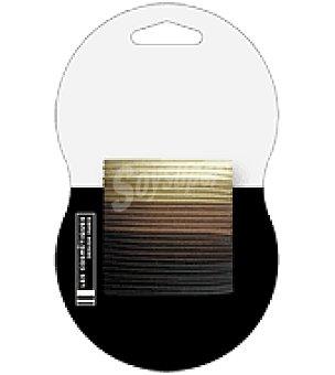 Les Cosmétiques Goma fina grande marron clasica 24 ud