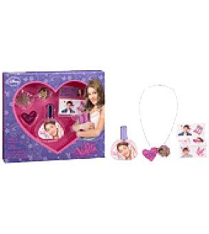 Disney Set Violetta de belleza (colonia+colgante+adhesivos) 1 ud