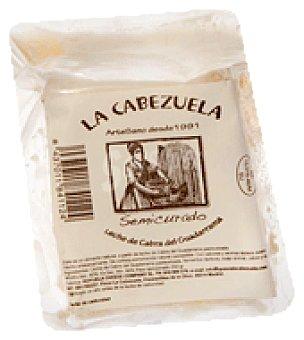 La cabezuela Cuña queso cabra artesano semicurado guadarrama 250 g