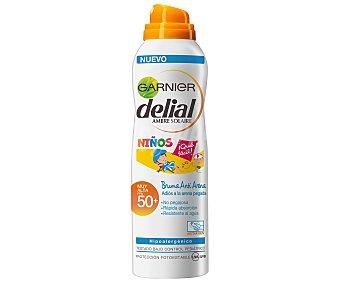 Delial Garnier Leche solar especial para niños, con factor de protección 50+ (muy alta) 200 ml