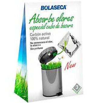 BOLA SECA Bolsitas perfumadas antiolor basura Pack 3 unid