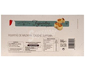 Auchan Figuritas de mazapán 200 gramos