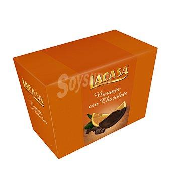 LACASA Gajos naranja con chocolate 112 g