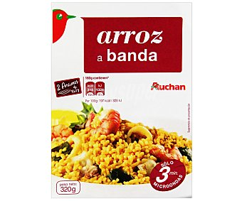 Auchan Arroz a banda 350 gramos