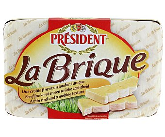 President Queso camembert La Brique 200 g